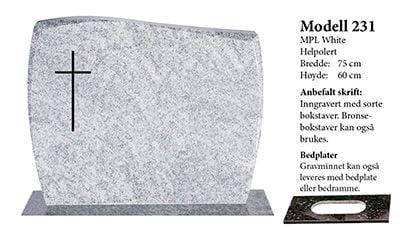 Modell 231 – MPL White
