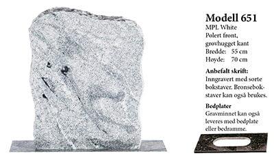 Modell 651 – MPL White