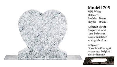 Modell 705 – MPL White